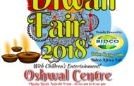 Diwali Fair 2018 Welcome Poster