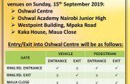 Parking for Samvatsari 2019